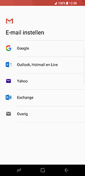 Samsung Galaxy S8 - E-mail - Handmatig instellen (gmail) - Stap 8