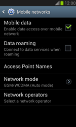 Samsung I8190 Galaxy S III Mini - Internet - Disable mobile data - Step 6