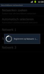 Samsung I9070 Galaxy S Advance - Netwerk - Handmatig netwerk selecteren - Stap 12