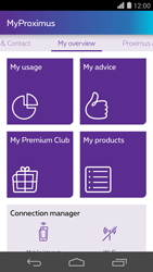Huawei Ascend P7 - Applications - MyProximus - Step 13