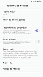 Samsung Galaxy S6 Edge - Android Nougat - Internet no telemóvel - Como configurar ligação à internet -  26