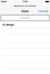 Apple iPhone 4S iOS 7 - E-mail - Escribir y enviar un correo electrónico - Paso 5
