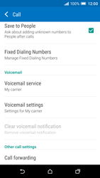HTC One A9 - Voicemail - Manual configuration - Step 5