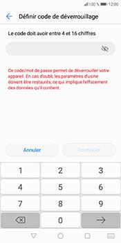 Huawei P Smart - Sécuriser votre mobile - Activer le code de verrouillage - Étape 8