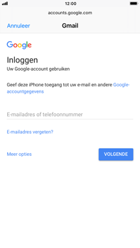 Apple Apple iPhone 6s Plus iOS 11 - E-mail - Handmatig instellen (gmail) - Stap 6
