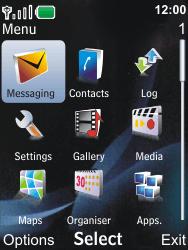 Nokia 6600i slide - MMS - Sending pictures - Step 2