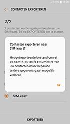 Samsung galaxy-j5-2017-sm-j530f-android-oreo - Contacten en data - Contacten kopiëren van toestel naar SIM - Stap 13