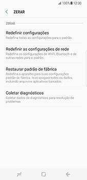 Samsung Galaxy S8 - Repor definições - Repor definições de fábrica do telemóvel -  7