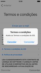 Apple iPhone 5s iOS 9 - Primeiros passos - Como ligar o telemóvel pela primeira vez -  21
