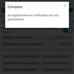 BlackBerry Classic - E-mail - Configuration manuelle - Étape 17