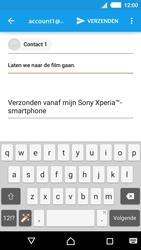 Sony E2303 Xperia M4 Aqua - E-mail - e-mail versturen - Stap 7
