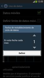 Samsung Galaxy S4 Mini - Internet - Ver uso de datos - Paso 7