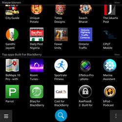 BlackBerry Passport - Applicaties - Downloaden - Stap 10