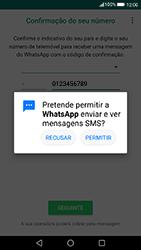 Huawei P8 Lite (2017) - Aplicações - Como configurar o WhatsApp -  12