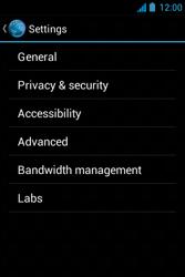 Acer Liquid Z3 - Internet - Manual configuration - Step 23