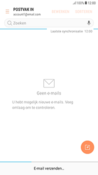 Samsung Galaxy J4 - E-mail - hoe te versturen - Stap 20