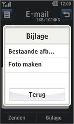 LG GD510 Pop - E-mail - hoe te versturen - Stap 11