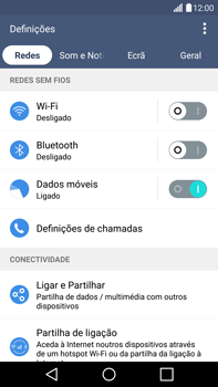 LG G4 - Segurança - Como ativar o código de bloqueio do ecrã -  4