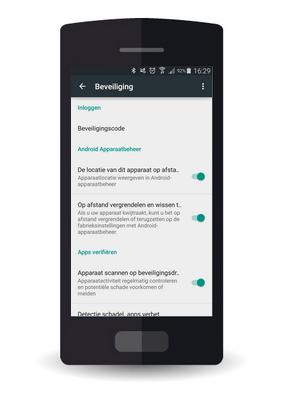 Huawei Y5 - Beveilig je toestel tegen verlies of diefstal - Maak je toestel eenvoudig BoefProof - Stap 2