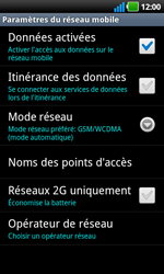 LG P970 Optimus Black - Internet - configuration manuelle - Étape 7