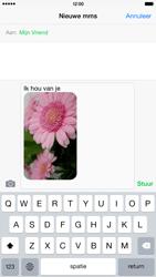 Apple iPhone 6 Plus iOS 8 - MMS - afbeeldingen verzenden - Stap 12