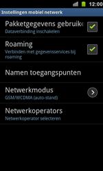 Samsung I9100 Galaxy S II - Internet - Internet gebruiken in het buitenland - Stap 9