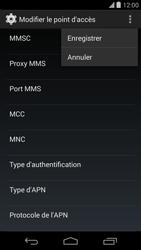 LG D821 Google Nexus 5 - Internet - configuration manuelle - Étape 16
