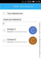 Alcatel Pixi 3 Dual Sim - E-mails - Envoyer un e-mail - Étape 6