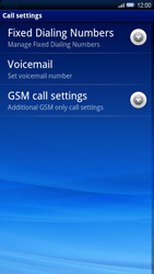 Sony Xperia X10 - Voicemail - Manual configuration - Step 5