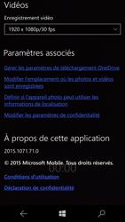 Microsoft Lumia 950 - Photos, vidéos, musique - Créer une vidéo - Étape 9
