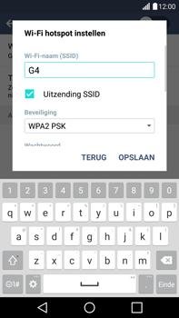 LG G4 - WiFi - Mobiele hotspot instellen - Stap 7