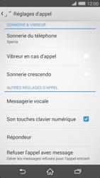 Sony Xperia Z2 (D6503) - Messagerie vocale - Configuration manuelle - Étape 5