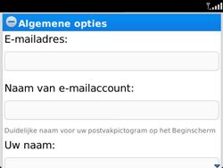 BlackBerry 9360 Curve - E-mail - Handmatig instellen - Stap 11