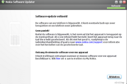 Nokia E66 - Software - Update installeren via PC - Stap 19