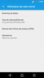 Sony Xperia Z3 Plus - Internet no telemóvel - Como ativar 4G -  8