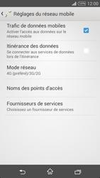 Sony Xpéria T3 - Internet et connexion - Activer la 4G - Étape 8