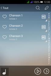 Alcatel Pixi 3 Dual Sim - Photos, vidéos, musique - Ecouter de la musique - Étape 5