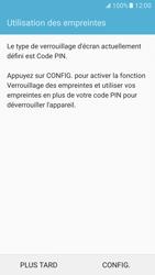 Samsung Galaxy S7 - Sécuriser votre mobile - Activer le code de verrouillage - Étape 12