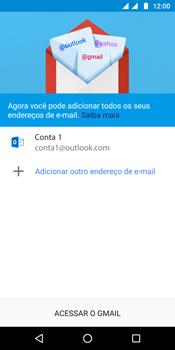Motorola Moto G6 Plus - Email - Como configurar seu celular para receber e enviar e-mails - Etapa 12