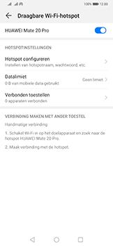 Huawei Mate 20 Pro - Internet - mijn data verbinding delen - Stap 10
