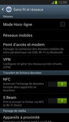 Samsung Galaxy Note 2 - Internet et connexion - Partager votre connexion en Wi-Fi - Étape 5