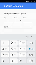 Samsung Galaxy Xcover 4 - Applications - Create an account - Step 8