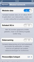Apple iPhone 5 - Netwerk - Wijzig netwerkmodus - Stap 6