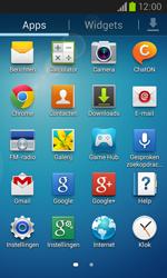 Samsung I8260 Galaxy Core - Contactgegevens overzetten - delen via Bluetooth - Stap 2