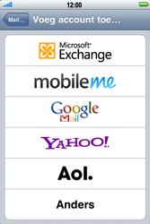 Apple iPhone 3G S - E-mail - Handmatig instellen - Stap 6