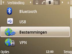 Nokia E72 - MMS - handmatig instellen - Stap 7