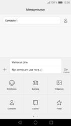 Huawei P9 Lite - Mensajería - Escribir y enviar un mensaje multimedia - Paso 13
