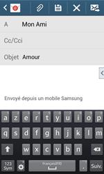Samsung Galaxy Ace 3 - E-mails - Envoyer un e-mail - Étape 9