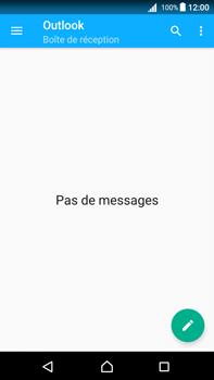 Sony Xperia Z5 Premium (E6853) - Android Nougat - E-mail - Configuration manuelle (outlook) - Étape 5