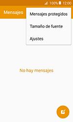 Samsung Galaxy J1 (2016) (J120) - Mensajería - Configurar el equipo para mensajes de texto - Paso 5